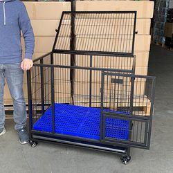 brand new $130 heavy duty dog crate cage, 37x25x33 inches for Sale in La Mirada,  CA