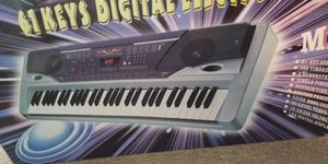 61 keys digital electronic keyboard for Sale in Rocky Mount, VA