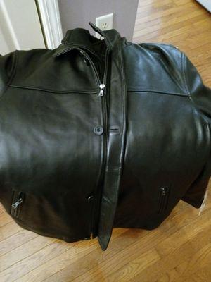 $375 Victory Sportswear Leather Parka Men's Double Collar Car Coat 2XL for Sale in Sayreville, NJ