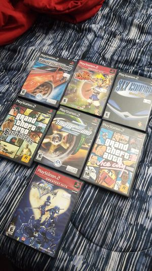 7 ps2 games for $40 firm for Sale in West Park, FL