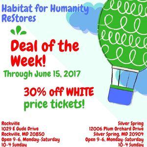 Deal of the Week at Habitat ReStores! for Sale in Rockville, MD