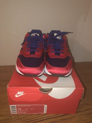 Red/Blue Nike Satin size 12 never worn for Sale in Washington, DC