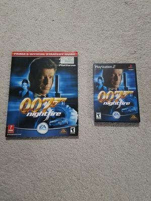 James Bond 007: Nightfire PS2 w/ Guide for Sale in Fairfax, VA