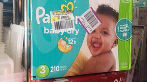Pampers baby dry $38 firm for Sale in Hayward, CA
