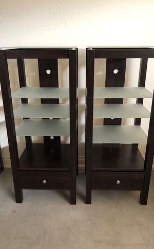 Media Rack / Book Shelfs/ cabinets for Salw for Sale in Chandler, AZ