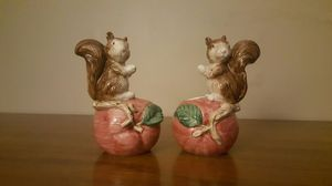 Vintage 1990 Coci Squirel Candle holders for Sale in Chapel Hill, NC