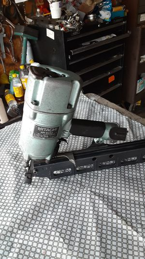 Hitachi freiming nailer used good condition for Sale in E RNCHO DMNGZ, CA