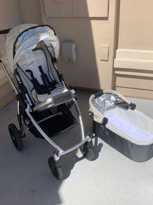 UPPA BABY- Vista stroller with infant carrier and toddler seat. for Sale in Las Vegas, NV