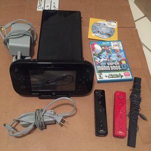 Nintendo Wii U 32gb for Sale in Glendale, AZ