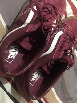 Vans Maroon Shoes Size 11 for Sale in Laredo,  TX