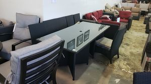 Brand New Patio Furniture 7pc Dining Table Set tax included and free delivery for Sale in Hayward, CA