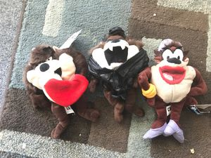 Taz mania devil cuddly toy collectible for Sale in San Marcos, CA