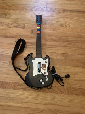 Playstation 2 PS2 Gibson Guitar Hero Red Octane PSLGH SG Wired Controller Black for Sale in Pelham, NH