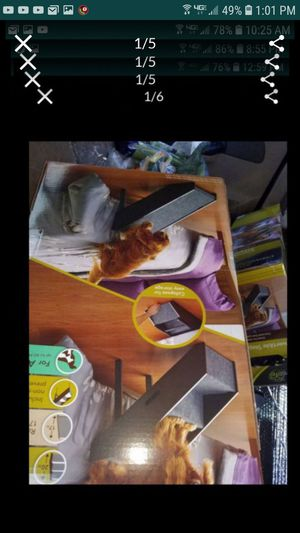 Reversible pet step and ramp new in box dog cat for Sale in Tracy, CA