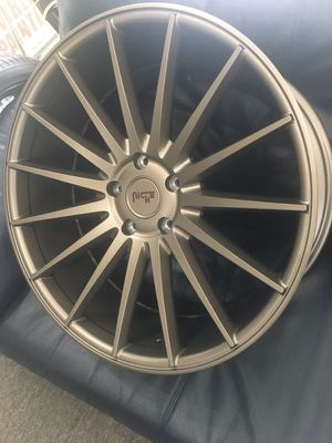 """BRSND NEW IN STOCK 22"""" STAGGERED 5x130 PORSCHE WHEELS AND TIRES #ATLCUSTOMAUTO for Sale in Atlanta, GA"""
