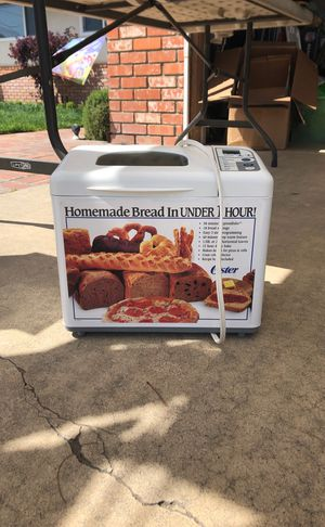 Oster Bread Maker for Sale in Ceres, CA