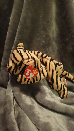 Stripes PVC Pellets TY Beanie Baby for Sale in Plano, TX