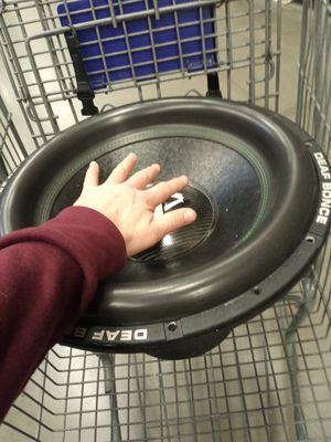 "Car audio sub 18"" Deaf Bonce db3 Monster sub for Sale in Las Vegas, NV"