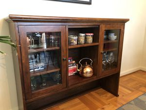 Crate and Barrel Hutch Top for Sale in Washington, DC