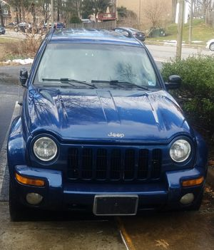 2002 Jeep Liberty Limited 4x4 ready to use for Sale in West Springfield, VA