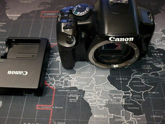 Canon XSI With 18 To 55mm Lense, Charger, and External Power Adaptor for Sale in San Antonio,  TX