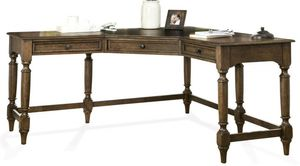 Brand new Cordero Aged Oak Corner Desk. Vintage/yet Modern style. Home furniture household general business for Sale in National City, CA