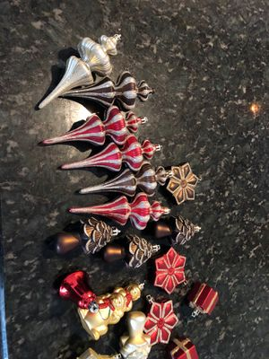 Christmas ornaments set of 19 for Sale in Wilton Manors, FL