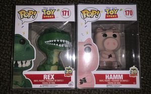 Disney X Pixar toy story pop ! Collectibles set mint condition for Sale in Bell Gardens, CA