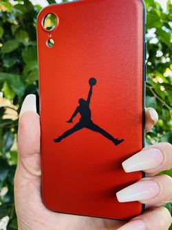 Brand new cool iphone XR case cover silicone rubber RED JORDAN GIrls guys womens mens hypebeast hype fundas for Sale in San Bernardino,  CA
