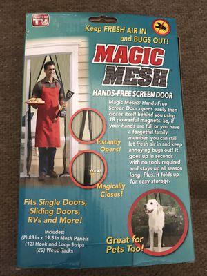 Magic Mesh Screen Door for Sale in Denver, CO