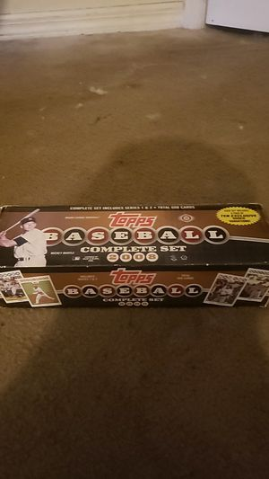 Topps baseball complete set for Sale in Tampa, FL