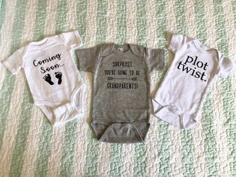 Baby Announcement Onesies for Sale in Edgewood,  FL