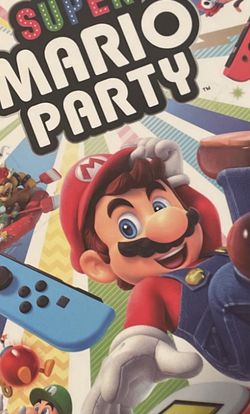 Super Mario Party (Nintendo Switch Game) OPENED BUT NEVER USED for Sale in Orem,  UT