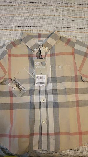 Burberry shirt for Sale in Gardena, CA