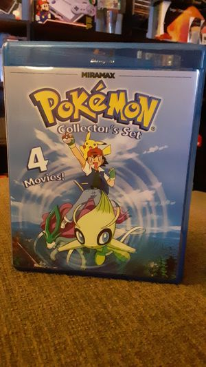 Pokemon 4 Movie Collector's Set Blu Ray for Sale in Durham, NC