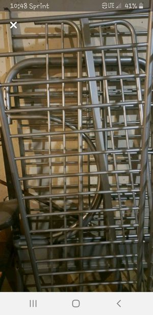 Bunk bed metal frame for Sale in Milwaukee, WI