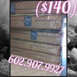 Queen Bed And box Spring Same Day Deliver for Sale in Phoenix,  AZ