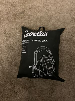 Cabela's Ripcord Duffle Bag for Sale in Sterling Heights, MI