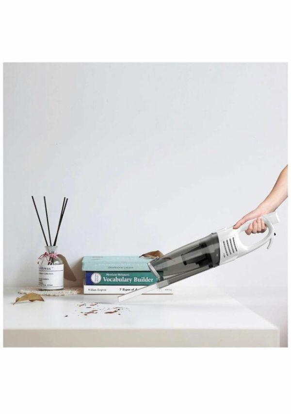 2 in 1 Corded Vacuum Cleaner, Swivel Ultra Lightweight Stick Vacuum,15 KPa 800W Strong Suction Handheld Stick Versatile Vacuum Cleaner Bagless