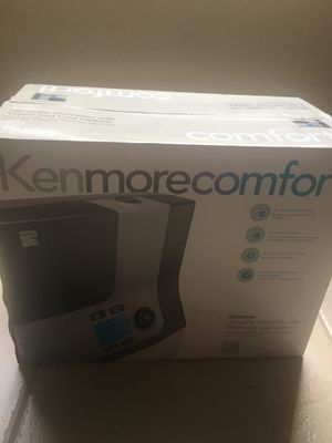 Ultrasonic humidifier - warm and cool for Sale in Parkland, FL