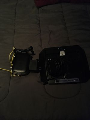 Netgear DOCSIS 3.0 cable modem and NIGHTHAWK X6 Tri-Band WIFI ROUTER for Sale in Garland, TX