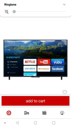 50 inch element smart tv for Sale in Ithaca, NY