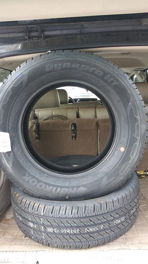 2 new Hankook Tires. 265/60R18 for Sale in Denver, CO