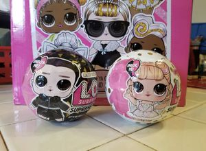 LOL Surprise Dolls Supreme BFF's NEW UNWRAPPED $55 for the set for Sale in Hayward, CA
