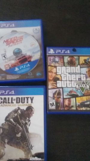 Ps4 games for Sale in Elma, WA