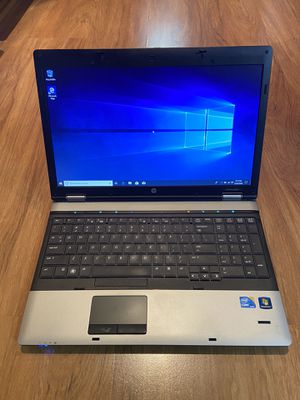 HP ProBook 6550b core i5 4GB Ram 250GB Hard Drive 15.6 inch Screen Windows 10 Pro Laptop with charger in Excellent Working condition!!!!!!! for Sale in Aurora, IL