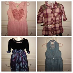 Bulk 4t clothes $50, 6 jammies, 7dresses, 5 shorts, two costumes, one Moana swimsuit, for Sale in Atlantic Beach, FL