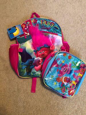 Trolls Backpack/Lunchbox Set for Sale in San Antonio, TX