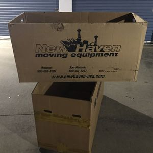 Movers Boxes for moving large or heavy things gondola with handles for Sale in Farmers Branch, TX