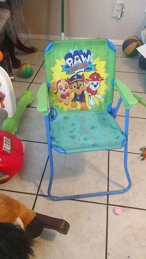 Paw patrol foldable chair for Sale in Phoenix, AZ